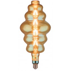 LED Bul - 8W E27 S180 With Amber Glass 2200K