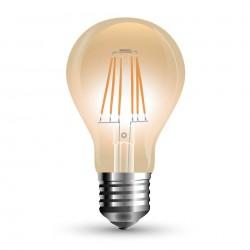 LED Bulb - 10W Filament E27 A67 Amber Cover 2200K