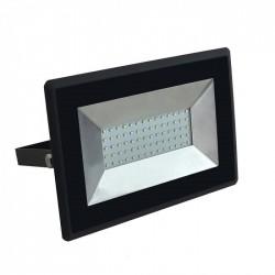 50W LED Floodlight SMD E-Series Black Body 6500K
