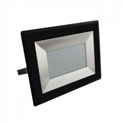 100W LED Floodlight SMD E-Series Black Body 6400K